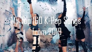 Download My Top 160 K-Pop Songs from 2019