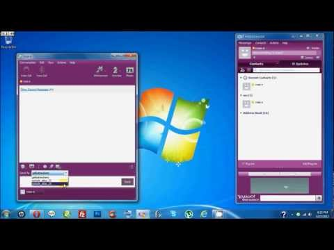 How To Chat With Multiple IDs In Yahoo Messenger
