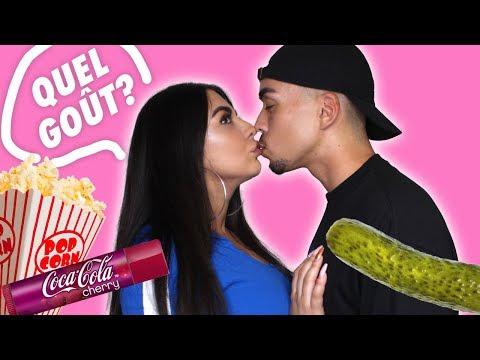KISSING CHALLENGE: QUEL GOÛT A MON LABELLO ?