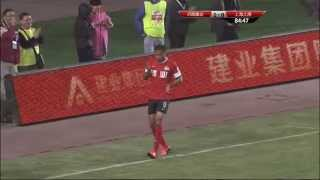 Henan Jianye vs Shanghai East Asia, Chinese Super League 2014 (Round 5)