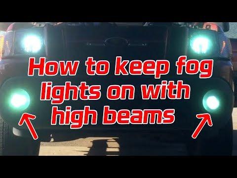 Ford F150 High Beam Fog Light Bambi Mod Doovi
