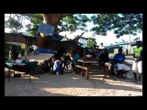 Le marché de Port-Vila au Vanuatu, par Maëlle