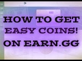 HOW TO GET COINS ON EARN.GG EASY USING ROLL!