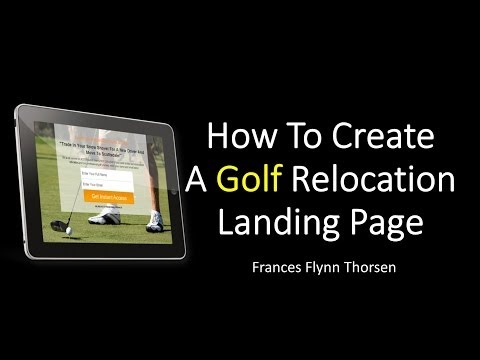 How To Create A Golf Relocation Landing Page Using Funnel Kit WordPress Plugin