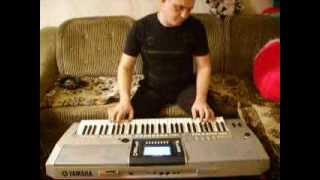 Yamaha PSR S-710.Украинское попури.