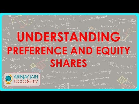 Understanding Preference and equity shares | Class XII Accounts | CBSE, ICSE, NCERT
