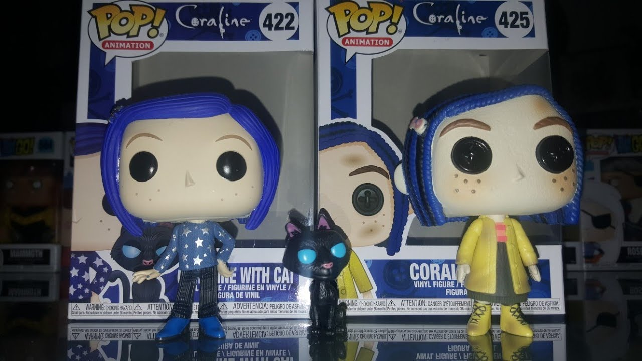 Funko Pop Coraline Coraline Doll Coraline With Cat Youtube