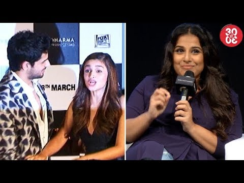 Alia Cancels Her Holiday Plans With Sidharth   Vidya Speaks About The Difficulties In Doing A Biopic