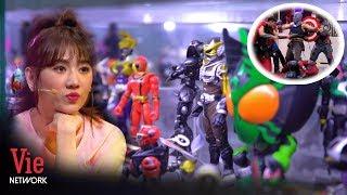 Hari Won cực mãn nhãn trước gia tài gần 500 mô hình siêu anh hùng Marvel hạng nặng l Ai Là Số 1