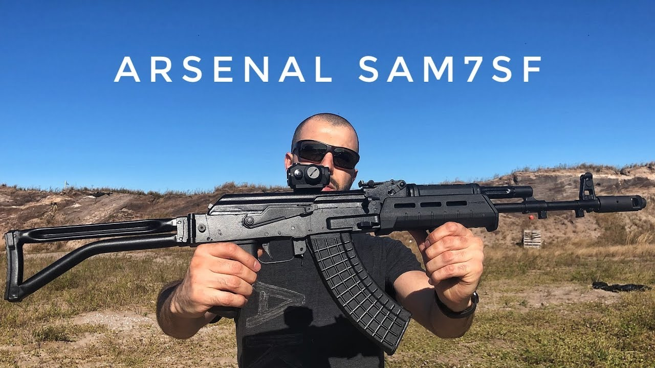 Arsenal SAM7SF (Bulgarian AK 47)