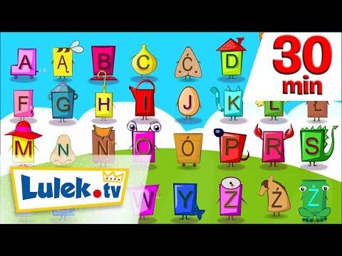 Literki, liczby i pierwsze słowa I + piosenki i filmy dla dzieci I 30' z Lulek.tv