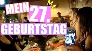 Mein 27. Geburtstag - kleiner Einblick von meiner Party