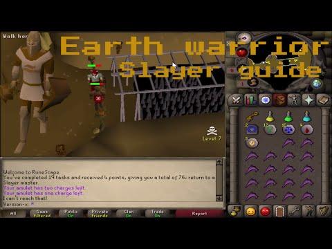 [OSRS] Earth warrior slayer task guide
