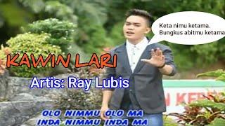 KAWIN LARI REMIX - Lagu Tapsel - RAY LUBIS