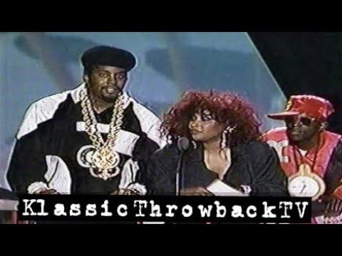 Flavor Flav, Chaka Khan, Eric B @ Soul Train Awards (1988)