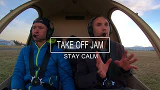 HELICOPTER PEDALS JAM IN FLIGHT