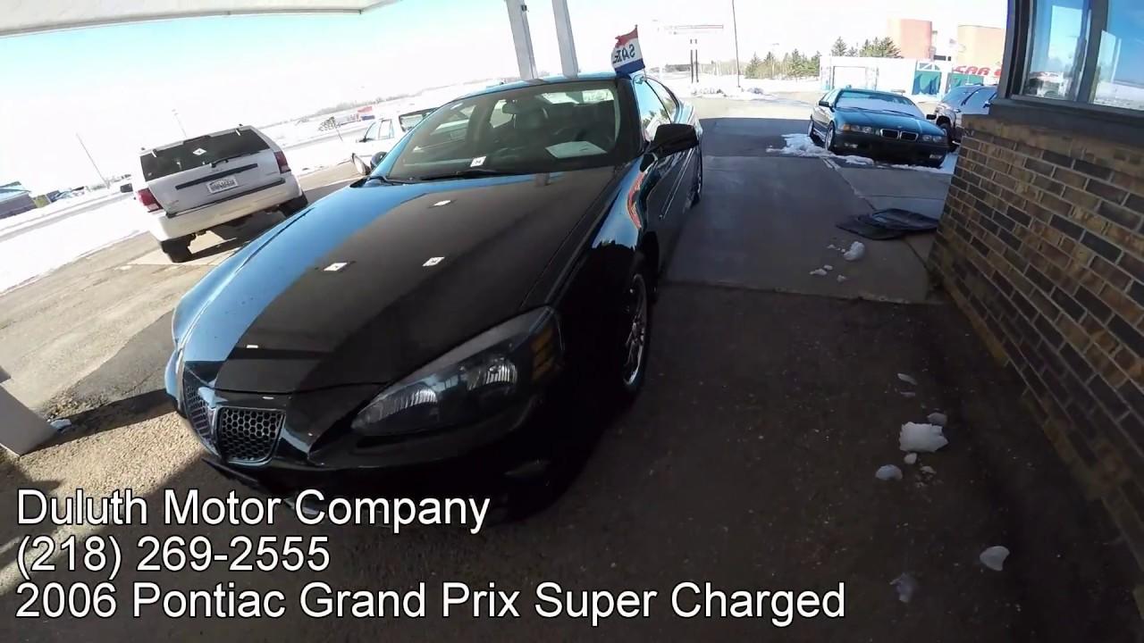 Pontiac 2006 pontiac grand prix gt supercharged specs : 2006 Pontiac Grand Prix Supercharged For Sale - Duluth Motor ...