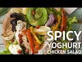 Spicy Yoghurt Chicken Salad