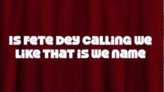 Mr. Fete- Machel Montano Lyrics