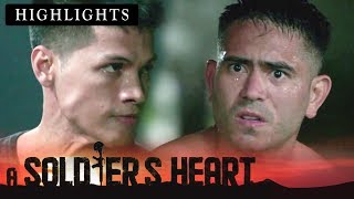 Alex gets shocked upon learning that Elmer is torturing him | A Soldier's Heart