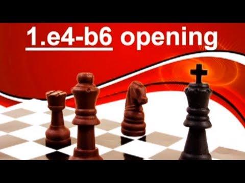 Chess Openings for Black  🎓  GM Smirnov (Owens Defense 1. e4 b6) - Pt 1/2