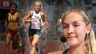 COMMENTATING MY HIGH SCHOOL RACES **sub 4:50 mile attempt!**