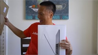 15-inch Space Gray MacBook Pro Unboxing! (2016) *Bonus Drop Test!