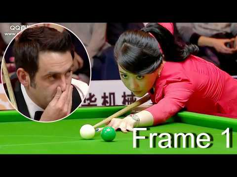 frame 1, ronnie won pan xiaoting ( china girl ) 6 red snooker special match from YouTube · Duration:  8 minutes 19 seconds