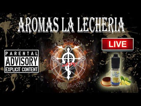 APV 216. Revisión aromas La Lechería Vape