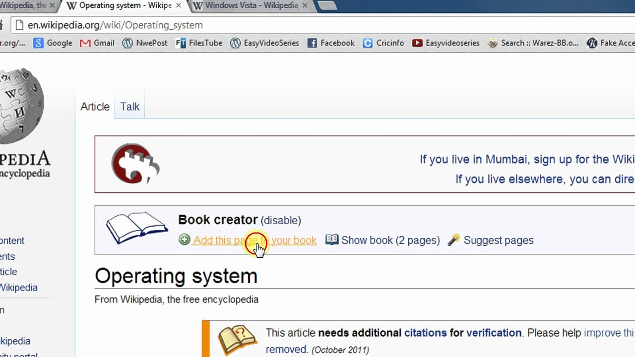 Download Wikipedia E-Book as PDF or EPUB A Step By Step Tutorial