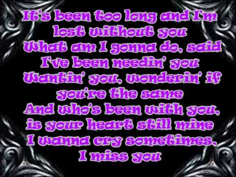 Aaliyah I Miss You Lyrics