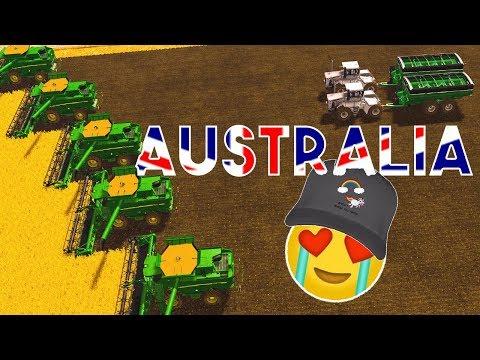 BIG MOISSON EN AUSTRALIE ! (Nouveau Concept)