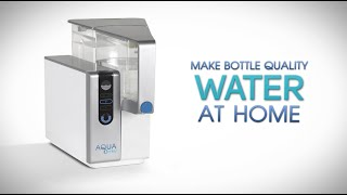 World's Best Water Purifier and Filter(Now you can create bottled water quality water right from your tap water with AquaTru. AquaTru is the first and only counter top water purifier that uses the gold ..., 2015-03-25T18:18:37.000Z)