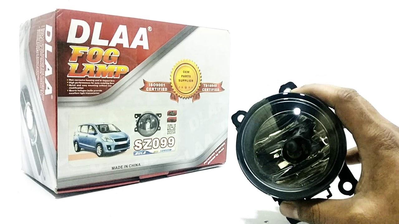 Suzuki Cultus Dlaa Fog Lamp Sz099 Model 2017 2018 Youtube