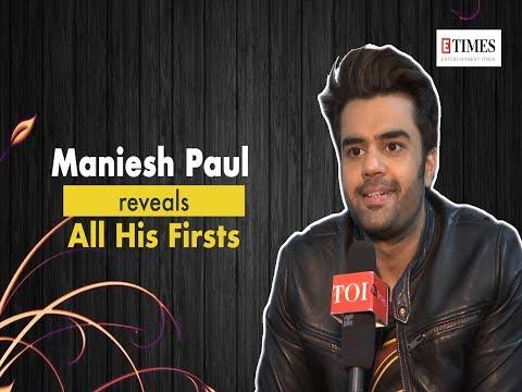 Maniesh Paul: Salman Khan once said that I am the best host in the world