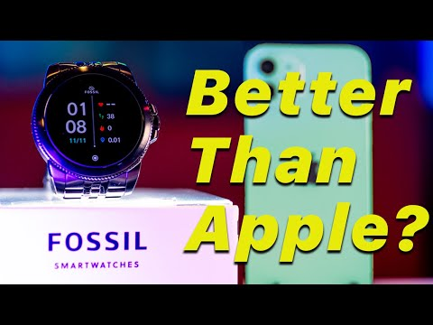 Is this better than the apple watch? | Fossil Gen 5E