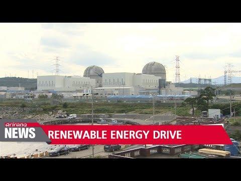 S. Korea to shift toward renewable energy, natural gas