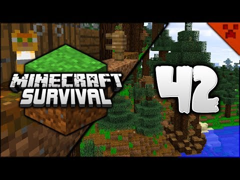Minecraft Survival | Back To The Start & My Furry Family! | Let's Play Minecraft Survival Episode 42