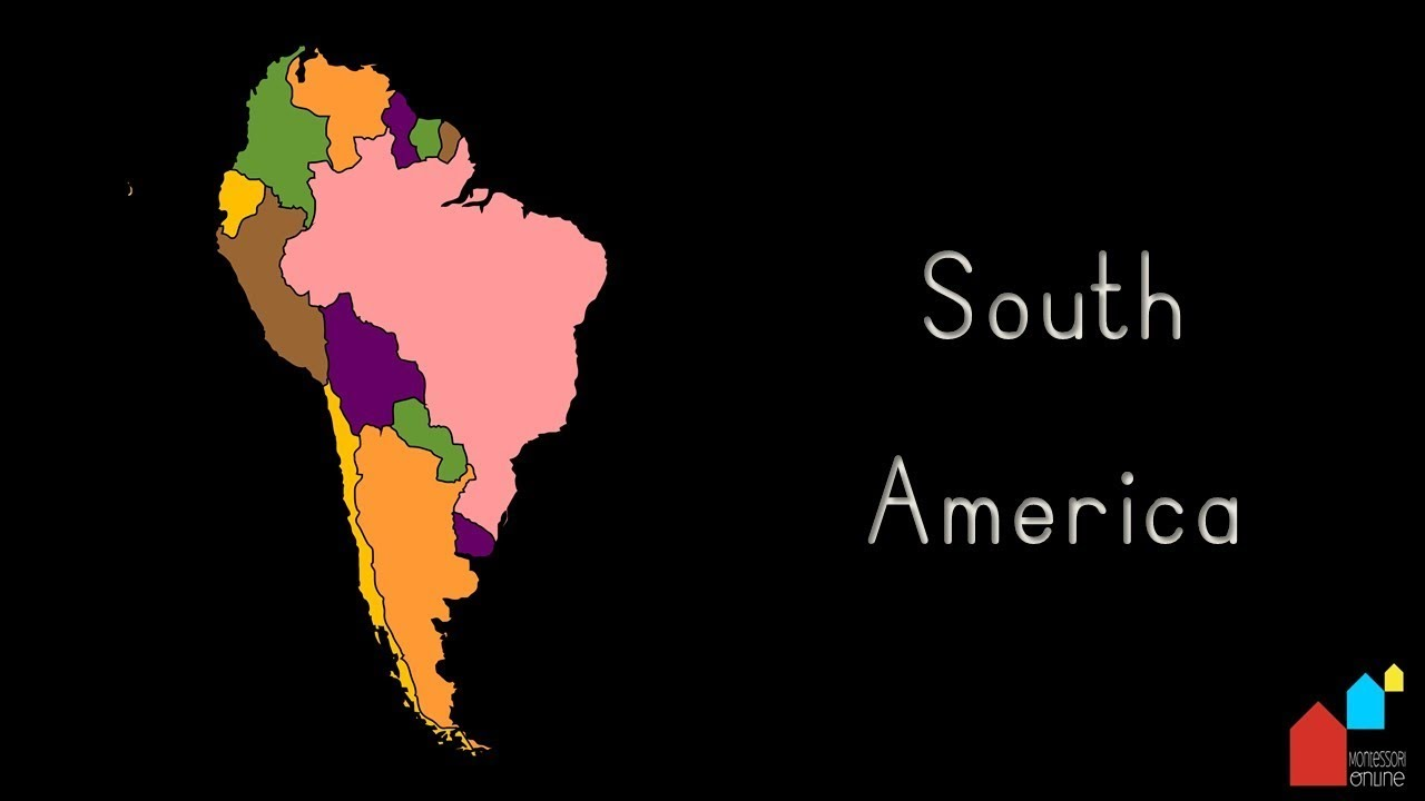 Countries of south america their capital cities and their flags countries of south america their capital cities and their flags montessori geography presentation gumiabroncs Images
