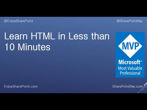 Learn HTML In Less Than 10 Minutes & Create Your First HTML Form