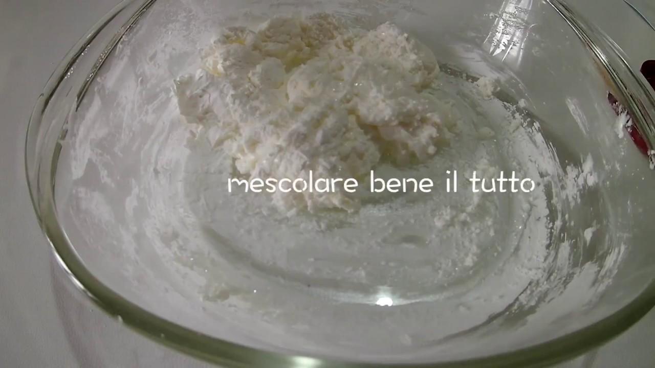 Pasta Di Mais Ricetta A Freddo Senza Cottura Youtube