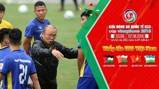 U23 Việt Nam tập luyện nhẹ sau chiến thắng mở màn trước U23 Palestine | VFF Channel