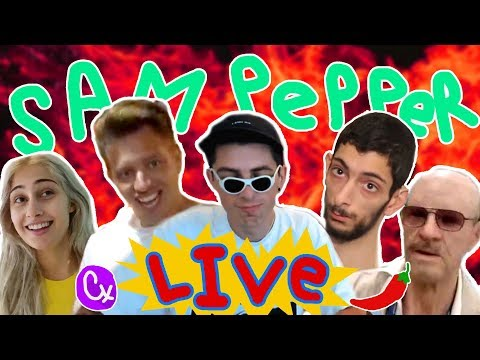co-op HUMAN FALL FLAT with EVAN | Sam Pepper Live Stream