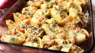 ФАРШИРОВАННЫЕ РАКУШКИ. Рецепт пасты. Как приготовить королевские макароны?