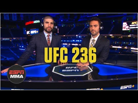 Recapping UFC 236 and what's next for Dustin Poirier, Israel Adesanya   ESPN MMA