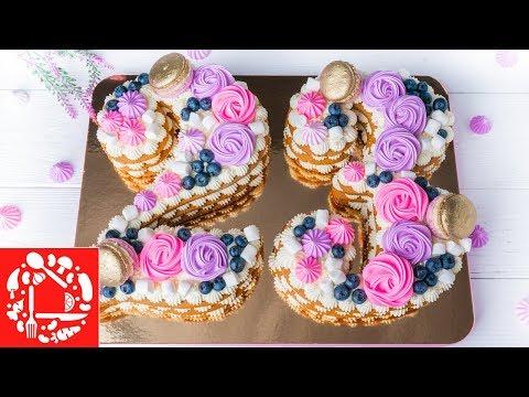 ХИТ! Торт ЦИФРА на День Рождения