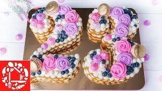 ХИТ Торт ЦИФРА на День Рождения