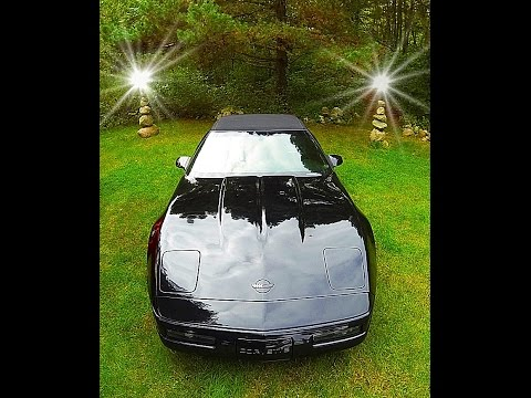 1996 CHEVROLET CORVETTE, OWNERS MANUEL VCR TAPE. and Letter also that came with the new C4 Corvette
