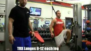 trx legs circuit exercises