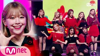 [fromis_9 - LOVE BOMB] KPOP TV Show | M COUNTDOWN 181108 EP.595